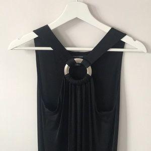 Linda Lundstrom black dress